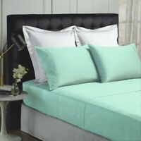 Park Avenue 500 Thread count Cotton Bamboo Sheet sets in Mist