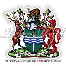 "PETERBOROUGH Coat of Arms Ontario Province Canada Vinyl Sticker Decal 90mm(3.5"")"