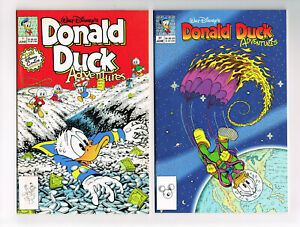 DONALD DUCK ADVENTURES #1 1990,#37, FREE COMIC BOOK DAY 2003 NM OB DISNEY COMIC