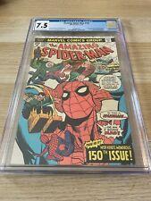 Amazing Spider-Man 150 CGC 7.5 OW/WHITE