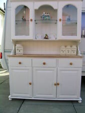 More than 200cm Height Pine Kitchen Welsh Dressers