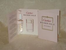 """Baiser Vole"" Cartier. Women's Eau de Parfum Sample. Lot of 2. New."
