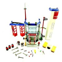 Playmobil 4819 Fire Station PlaySet Toys Vintage Complete Superb Condition Boxed