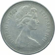 1968 LARGE 5P COIN ELIZABETH II.  #WT17312
