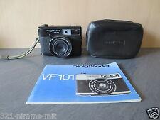 +++Voigtländer VF 101 schwarz Sucherkamera+++