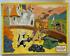 "Vtg Puzzle King Leonardo and His Short Subjects 1961 Jaymar Frame-Tray 10"" x 13"""