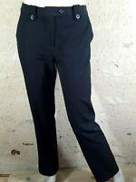 LA FEE MARABOUTEE Taille 40 Superbe pantalon noir femme black trousers