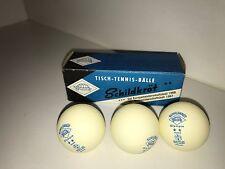 SCHILDKROT VINTAGE TABLE TENNIS PING PONG BALLS 1967 WORLD CHAMPIONSHIPS NEW NOS