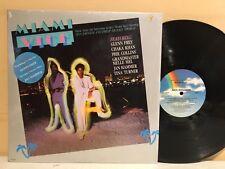Miami Vice Soundtrack LP 1985 MCA Records MCA-6150 (EX Vinyl) 1st Press Shrink