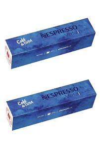 Nespresso CAFE DE CUBA VERTUOLINE Limited Edition Capsules 5 sleeves Of 10 pods