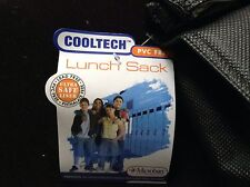 "Cooltech Lunch Bag Color Black & Blue ""New"""