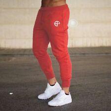 US Men Slim Fit Jogger Sports Gym Bodybuilding Running Track Trousers Sweatpants