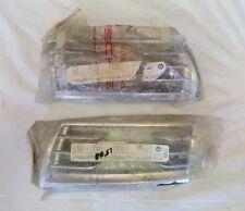Set of NOS 1965-68 Porsche 911 912 SWB Chrome Fog Light Horn Grills