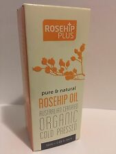 ROSEHIP Plus Oil Australian Certified Organic Cold Pressed New Sealed Box 1.69oz