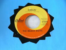 BEACH BOYS~ DARLIN~ HERE TODAY~ VG++~CAPITOL 2068~ POP 45