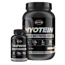 Bodybuilding Supplements Top Sellers Kit- Myotein Protein 2LBS (Van) & Testosyn