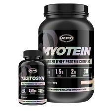 Bodybuilding Supplements Top Sellers Kit- Myotein Protein 2LBS (Van) & Testosyn