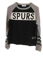 Touch By Alyssa Milano San Antonio Spurs Women's Large Team Spirit Sweater Knit