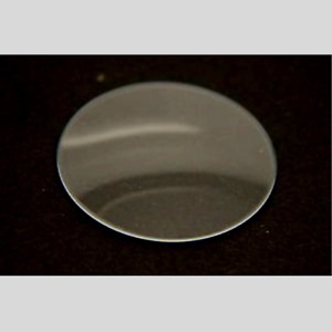 Mineral Crystal Watch Glass Replacement 1mm thick Low Domed - 29.5mm Diameter