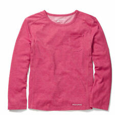 No Pattern Polycotton Long Sleeve Girls' T-Shirts & Tops (2-16 Years)