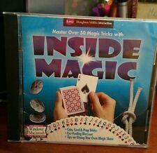 Inside Magic Over 50 Magic Tricks PC GAME - FREE POST