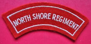 Australian Army North Shore Regiment regimental shoulder title badge