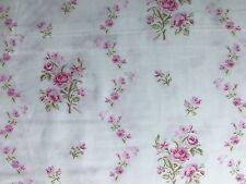 NEW King Sheet Set English Rose Hillcrest Linens 310 TC 100% Cotton