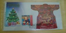 Malaysia MS Dragon 2012 FDC Legacy of Loom + Lantern Festive Stamp Cover