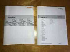 064 Stihl Chainsaw Service Workshop Repair & Illustrated Parts List Manual