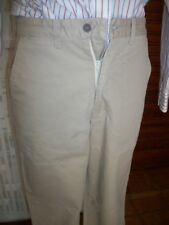 Pantalon habillé coton beige épais DOCKERS W28 L34 ou 38FR droit pg4