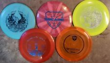 Lot of 5 Disc Golf Discs drivers Innova dynamic discs and disc mania Westside