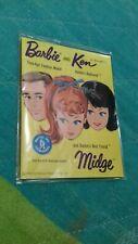 Vintage Barbie booklet 60's htf! Ottimo