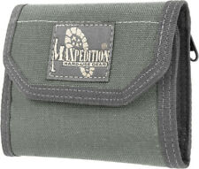 "Maxpedition CMC Wallet Closed empty size 5"" L x 3.5"" H x 1"" W Foliage Green New"