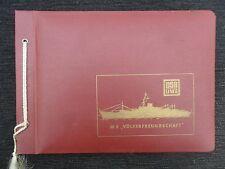 "5402 EAST GERMAN/DDR/GDR/DSR lines FDGB "" FRIENDSHIP amoung PEOPLE ship "" 1977"