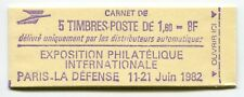 RC 5974 FRANCE CARNET 2187-C 1 LIBERTÉ 5 TIMBRES A 1,60f MNH NEUF **