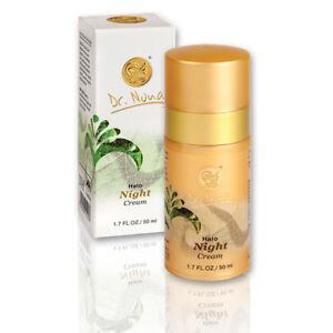 Dr Nona Halo Night Cream restore skin firmness elasticity reduce wrinkles aging