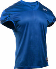 Nwt Under Armour Team Practice Football Jersey Blue/Gray Mens Large 1276840
