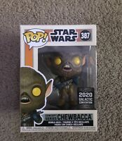 Funko Pop Star Wars Concept Series Chewbacca 2020 Galactic Convention Exclusive