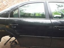 2006 FORD MONDEO MK3 panther black G0 drivers rear door (BREAKING 2001-2007)