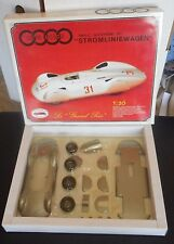 New AUTO UNION Tipo C. STROMLINIEWAGEN 16 cylinder 1937 REVIVAL Italy 1:20 Metal