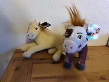 "Spirit Riding Free Dreamworks 8"" Plush Horse Pony Lot of 2 Boomerang Chica Linda"