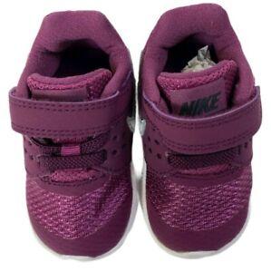 Nike Girls' Downshifter 7 (TDV) Bordeaux/Metallic Silver SZ 3C 869971 601