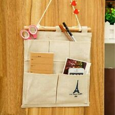 Tower 5 Pockets Household Door Wall Hanging Organizer Storage Stuff Bags