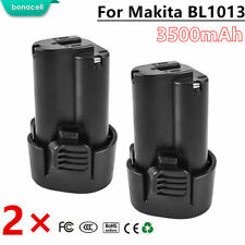 2 Pack New 10.8V 3.5Ah Li-ion Replacement Battery for Makita BL1013 BL1014 TP