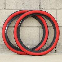 ECLAT BMX FIREBALL BICYCLE TIRE BLACK RED YELLOW PINK PRIMO SUNDAY ODYSSEY