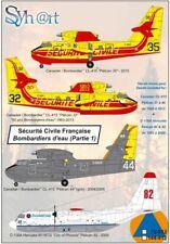 Syhart 1/72 Securite Civile Francaise (Part 1) CL-415 + Lockheed C-130A Hercules