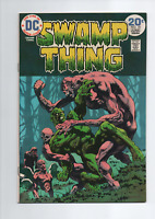 Swamp Thing #10  Last Wrightson  High Grade. See scans.