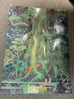 Secret of Mana SUPER NINTENDO SNES Poster Map Fold Out Only!