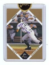 ROBINSON CANO Yankees 2003 *GOLD* RC AUTOGRAPH xx/100
