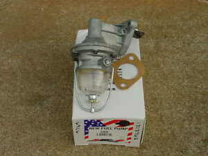 1930s 1940s 1950 51 52 MoPar Flat 6 Glass Bowl FUEL PUMP Plymouth Dodge Chrysler